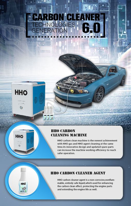 Brown Gas Generator for Engine Carbon Clean