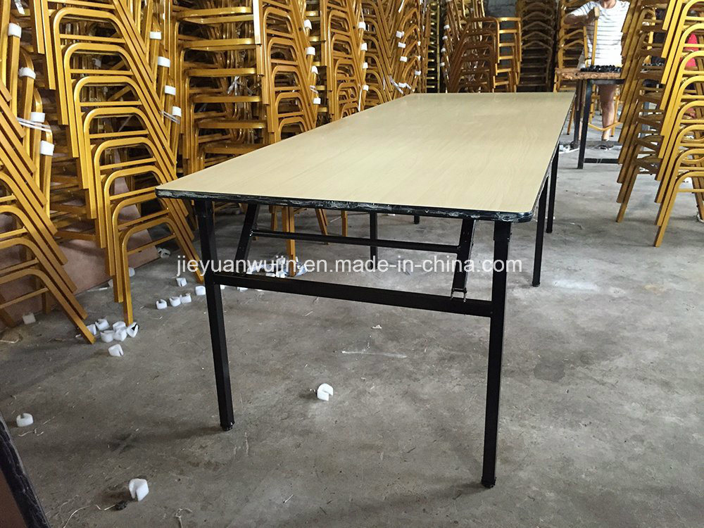 Rectangular Commercial Hotel Folding Banquet Training Seminar Table (JY-T12)