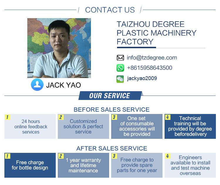 2L Fully Automatic Plastic Bottle Making Machine