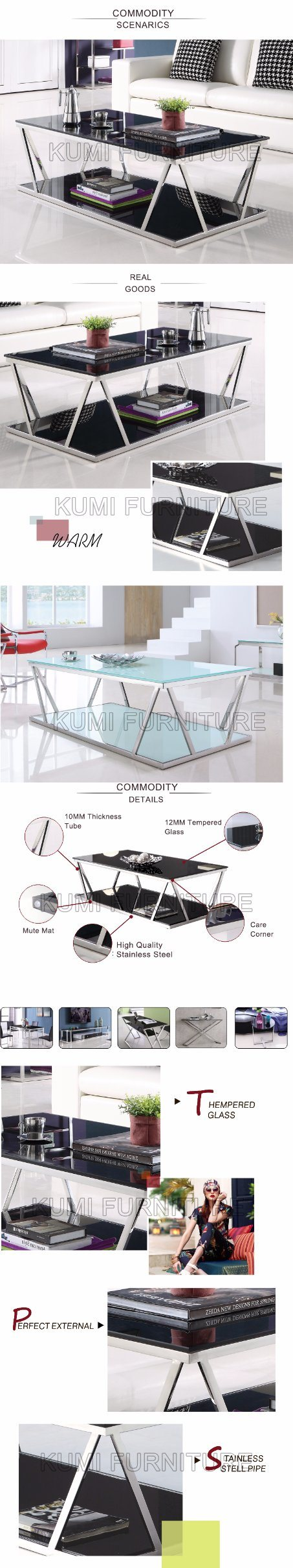 Modern Style Home Furniture Living Room Tea Table