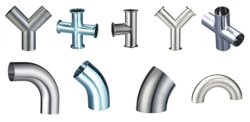 3A/Dn/Bpe Stainless Steel Sanitary Welded Pipe Fittings