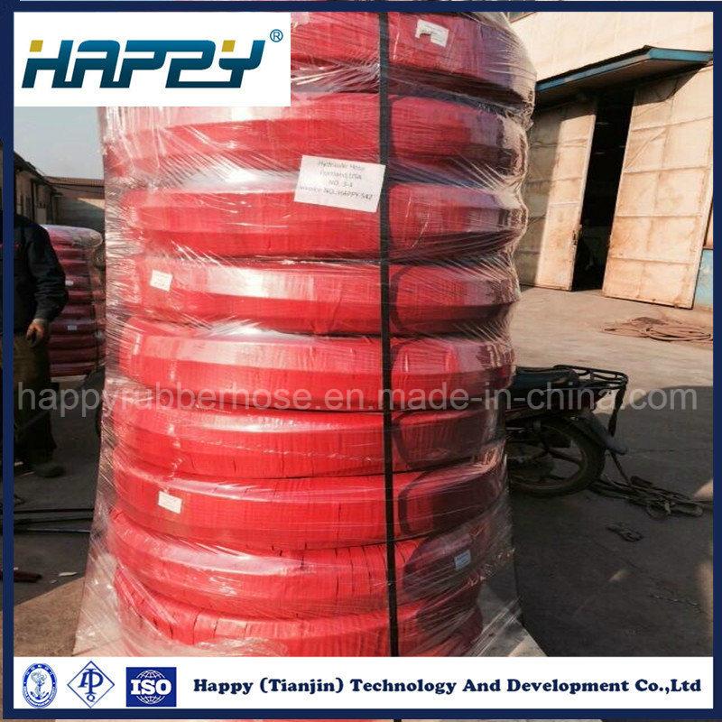 High Pressure Wire Spiral Oil Hydraulic Rubber Hose R10