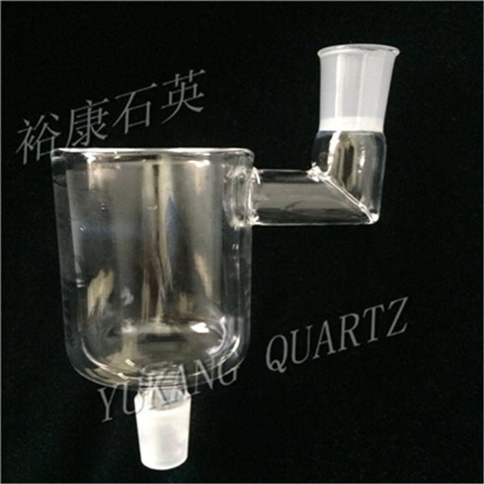 Customized Quartz Glass Kjeldahl Flask with Male 24/40 Ground Joint