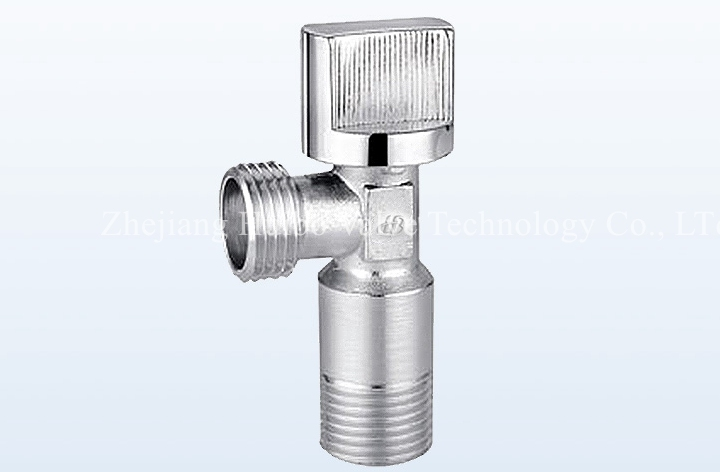 Galvanized Forged Brass Angle Valve for Water