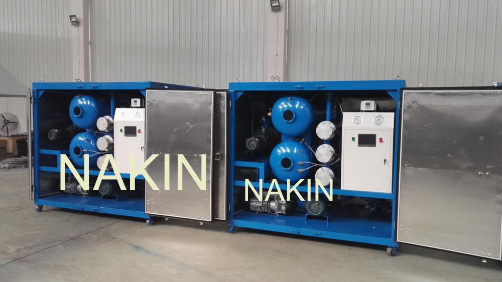 Vacuum Transformer Oil Filtration Equipment as Oil Treatment Plant