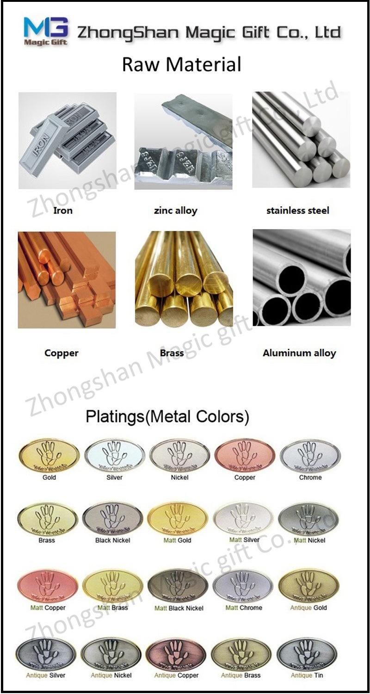 Hot Sales Special Puzzle Ribbon Metal Pin