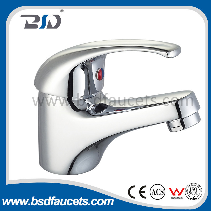 Single Lever Durable Brass Washbasin Faucet