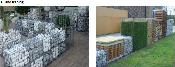 Made in China Stone Cage Welded Gabion Mesh