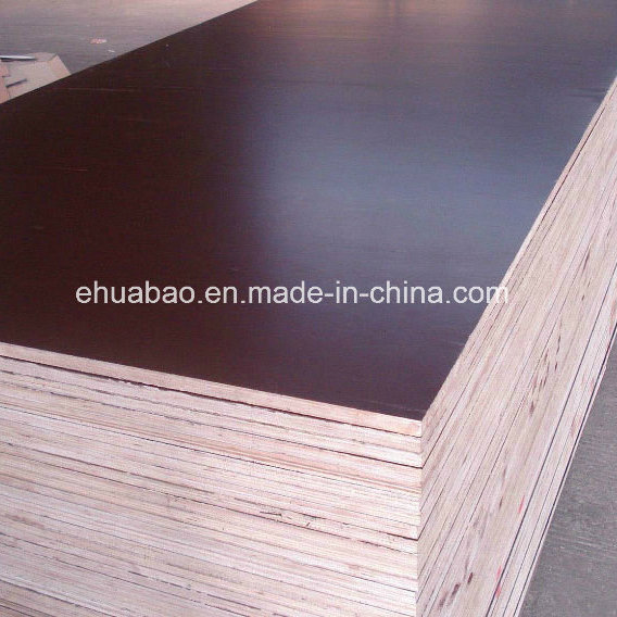 18mm Marine Plywood Poplar Core Brown Film