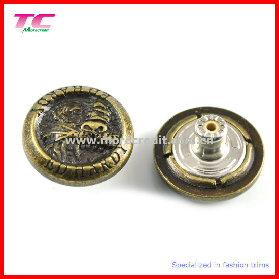 Metal Jeans Button for Jeanswear