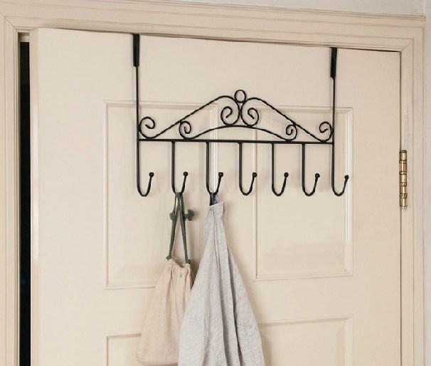 Handmade Simple Over Door Clothes Hook