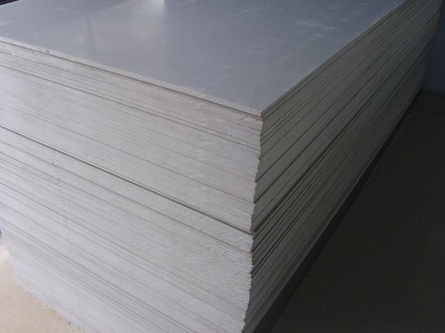 Extruded Grey Rigid PVC Plastic Sheet
