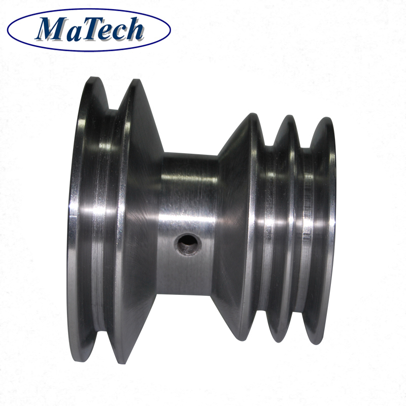 Metal Fabrication High Precisely Casting Material Steel#45 V Belt Pulley