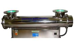 UV Sterilizer Effective Against Free Bacteria Floating in Water Treatment