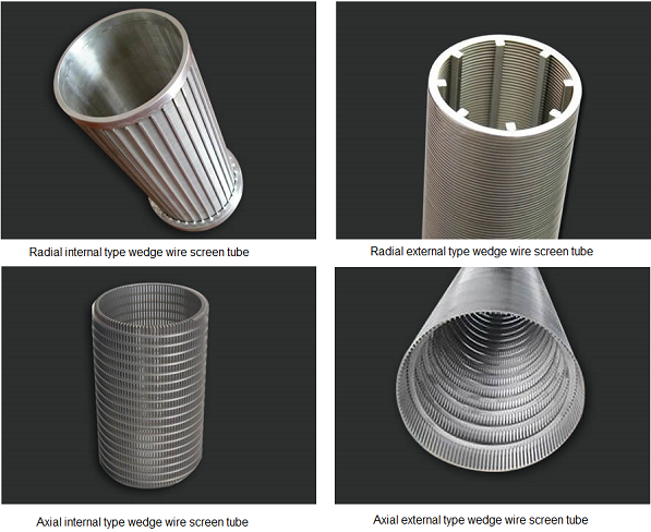 Ss Water Well Wedge Wire Tubes