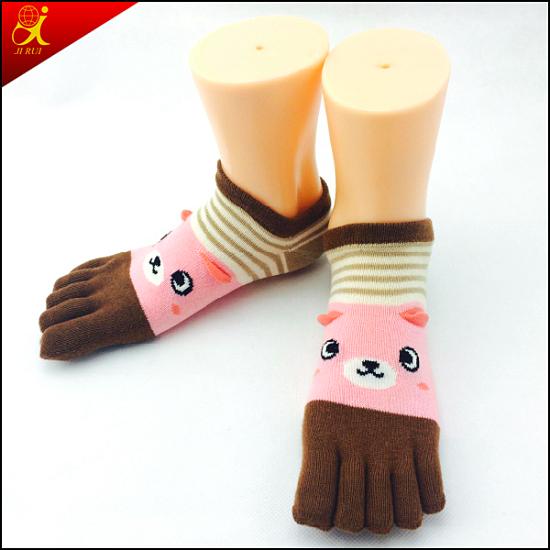 Cute Girl Five Toes Japanese Sock