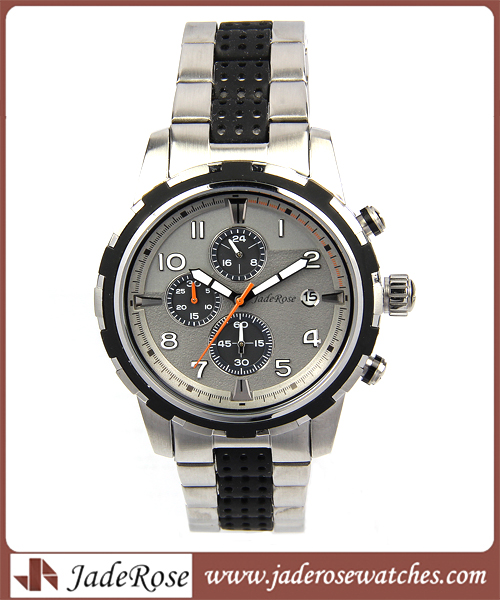 Waterproof Gift Men's Promotional Wristwatch to Alloy