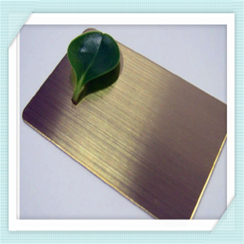 Hairline and Colored Stainless Steel Sheet
