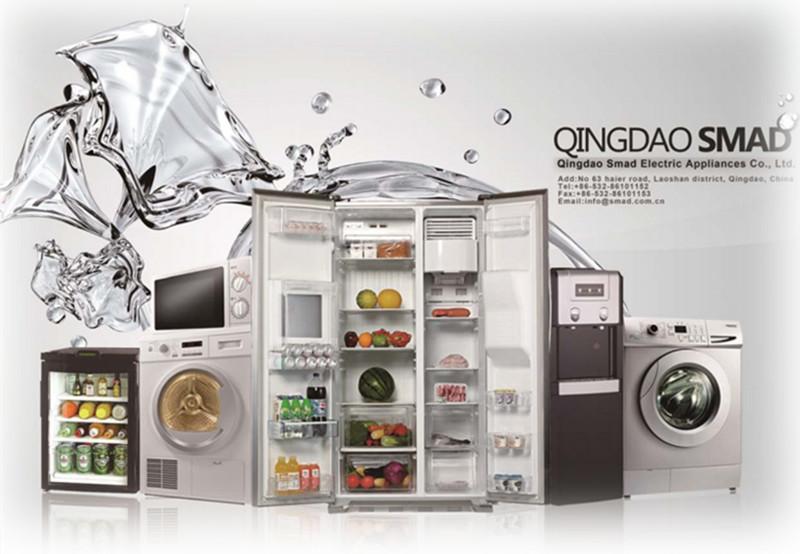 Home Double Door Combi Fridge Refrigerator Bcd-218W