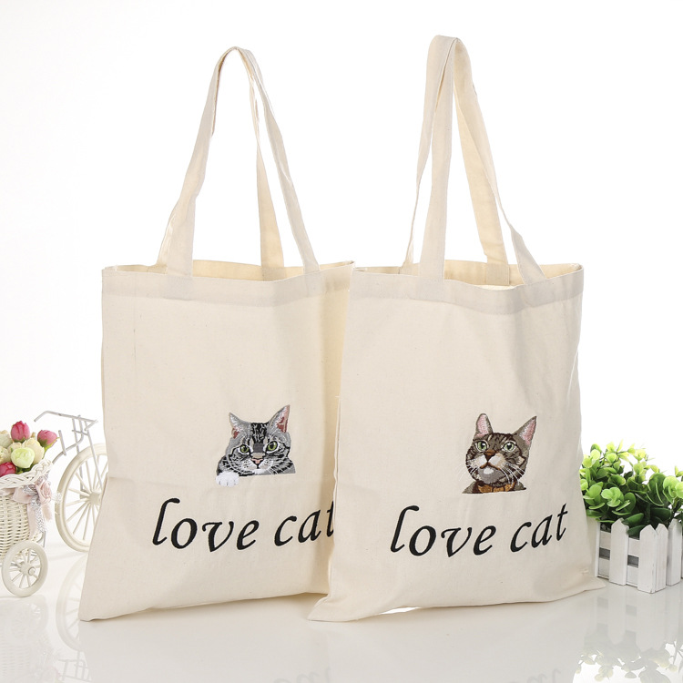 Fashion Cotton Canvas Shopping Bag