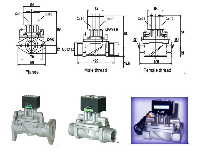 Fuel Dispenser Solenoid Valve (CF8W)