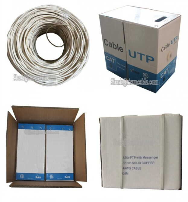 1000FT Roll UTP FTP SFTP Double Jacket Cat5e LAN Cable