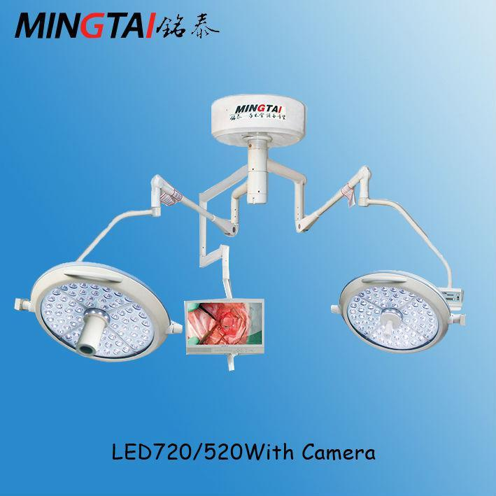 LED Lamp with Camera for Surgery Education LED Shadowless Light
