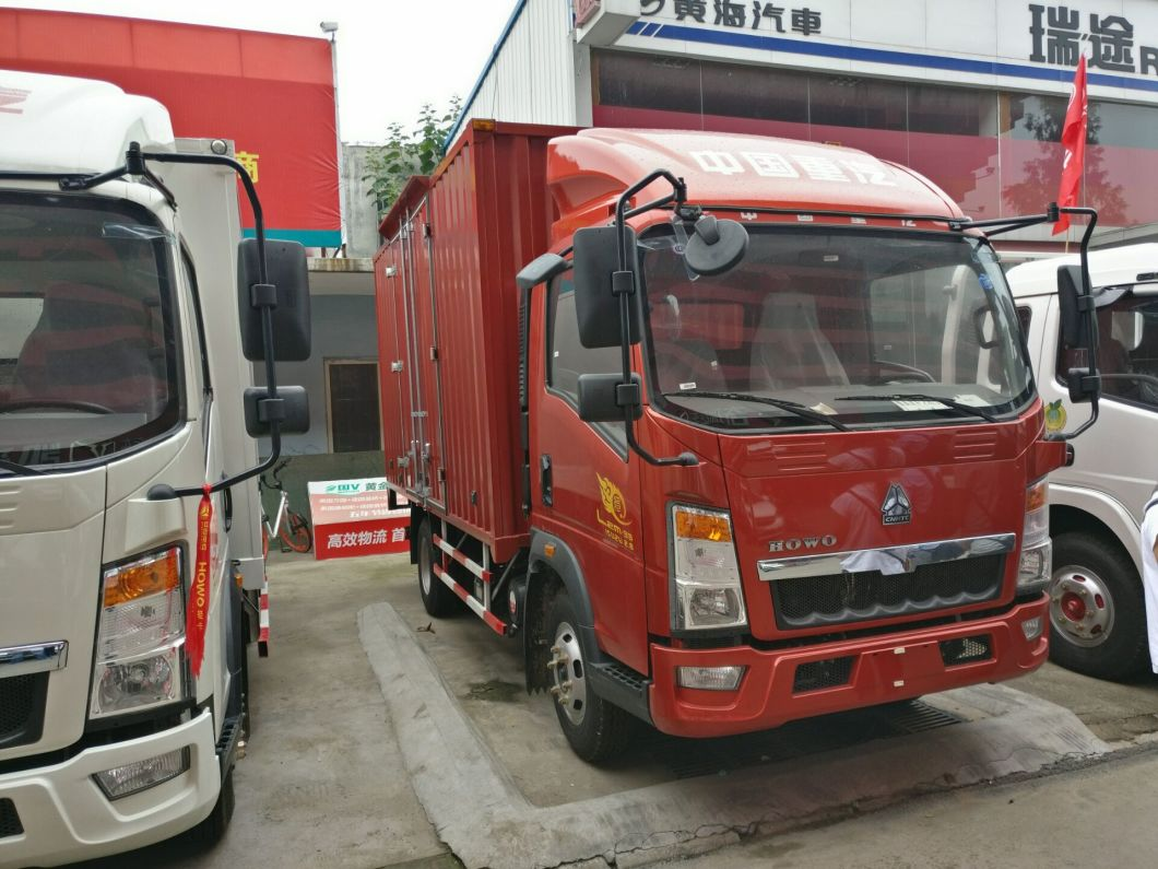 4*2 HOWO Van Truck with 91HP Engine