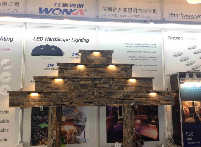 Hardscape Light Waterproof IP67 Deck Light Step Light Garden Light