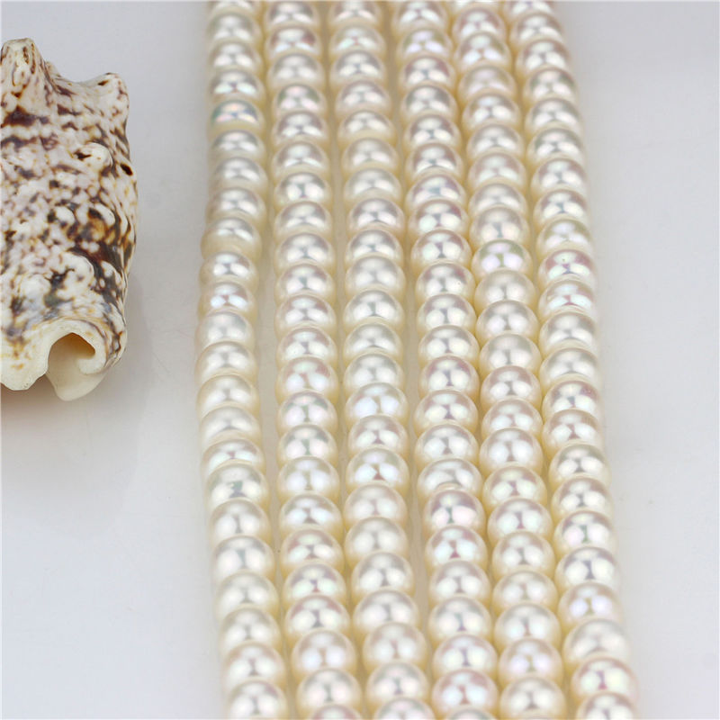 Freshwater 8mm AAA Natural Freshwater Pearl Strand