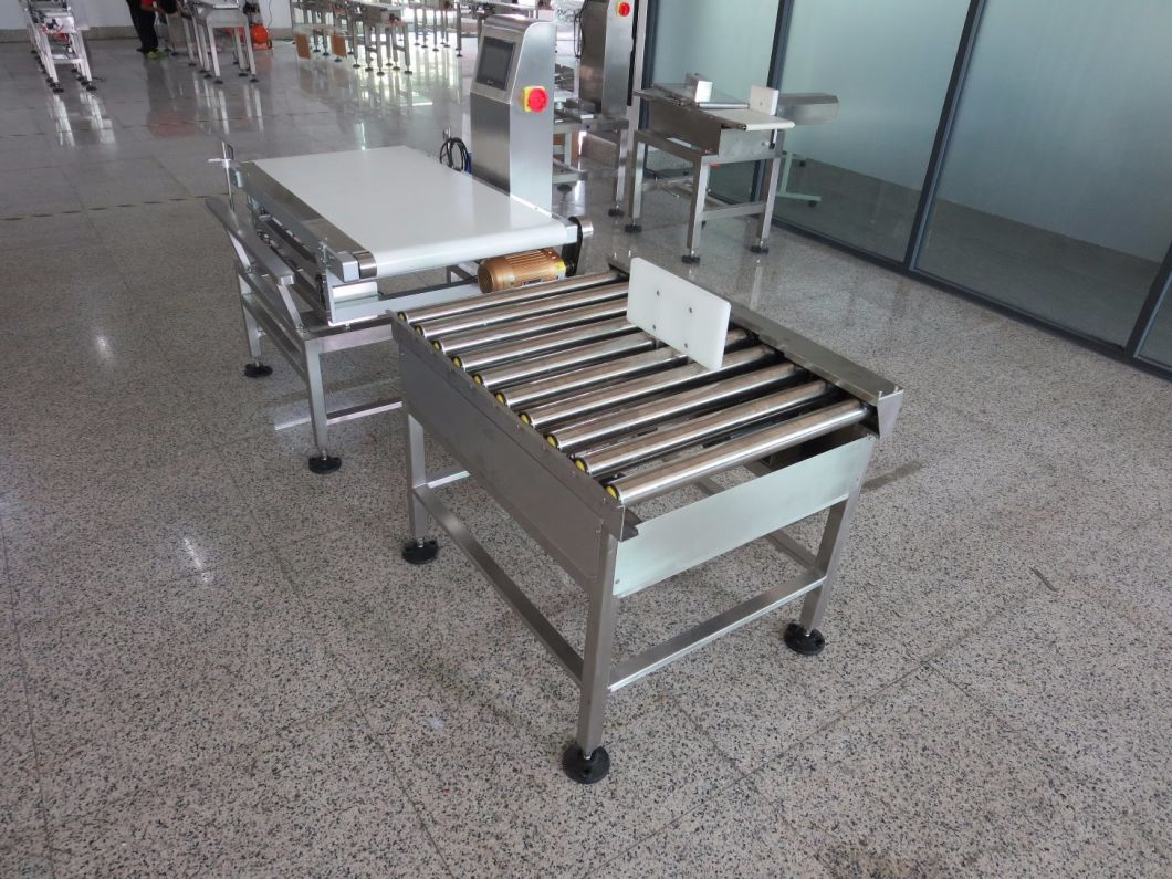 High Speed Checkweigher for Mask Packing Line