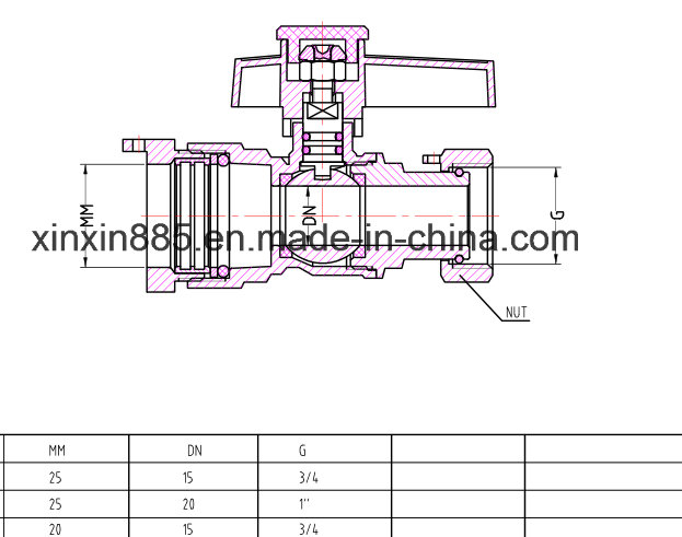 Brass Lockable Ball Valve
