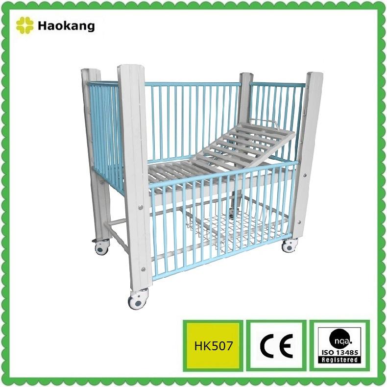 Hospital Pediatric Bed for Adjustable Medical Children Equipment (HK507)