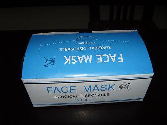 High Quality Disposable Face Mask with Earloop 3ply Non Woven (FL)