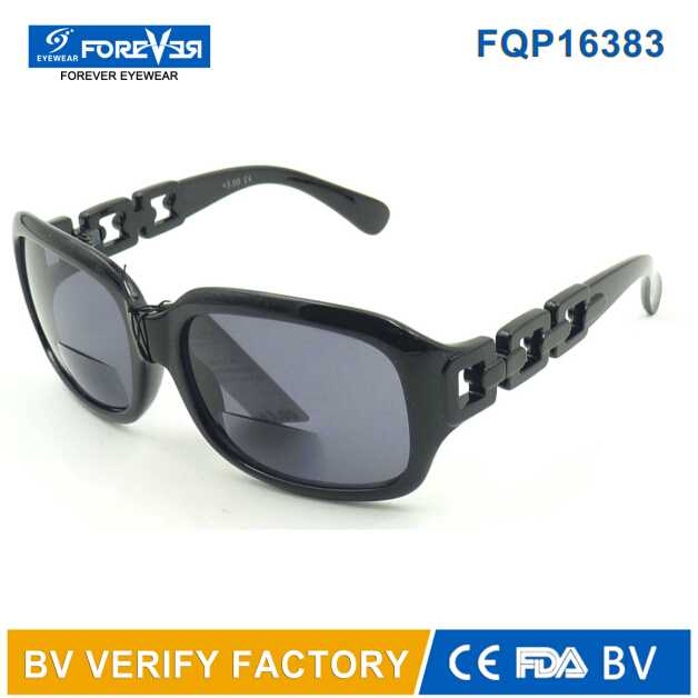 Fqp16383 2016 New Design Good Quality Sunglasses with Bifocal Lens
