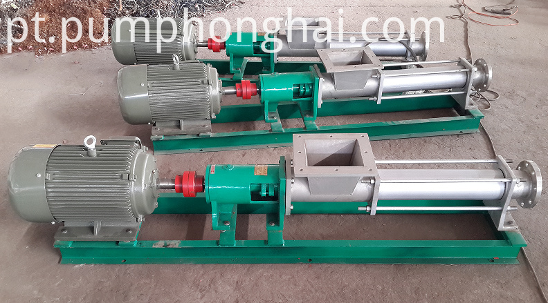 stainless steel single screw pump