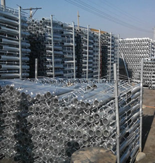 High DIP Galvanized Ground Screw