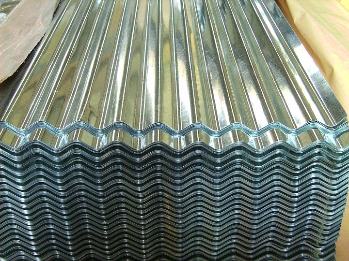 Factory Supply Corrugated Galvanized Roofing Steel Sheet (YX18-76.2-836)