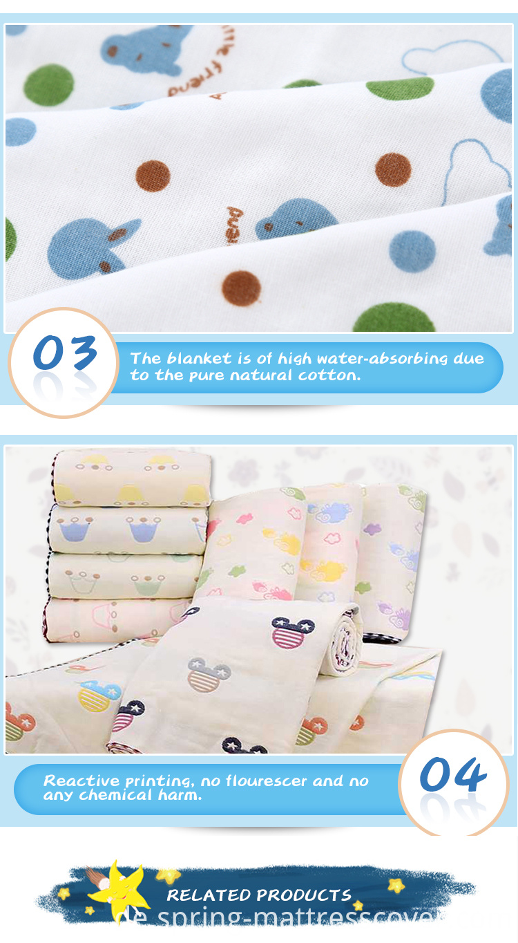 Swaddle Multi-layer Blanket