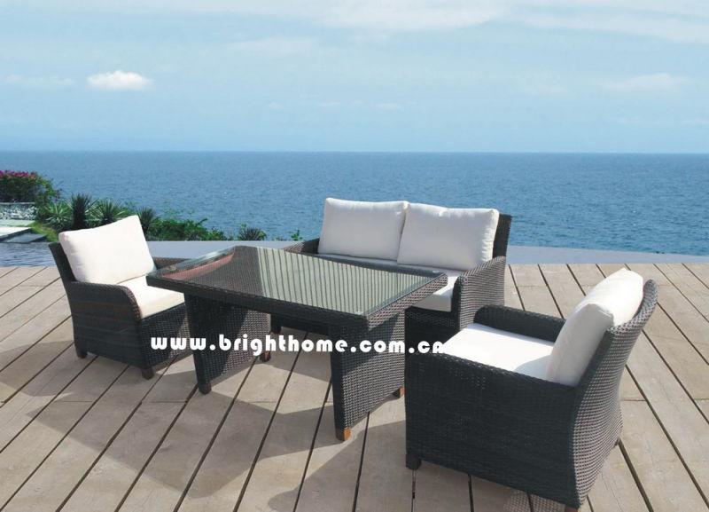 Hot Sale Sofa Set Rattan Wicker Outdoor Furniture Bp-588d