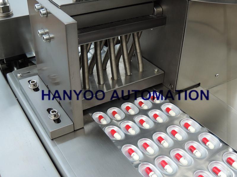Dpp-250 Automatic Alu-Alu / Alu-PVC Blister Package Machine