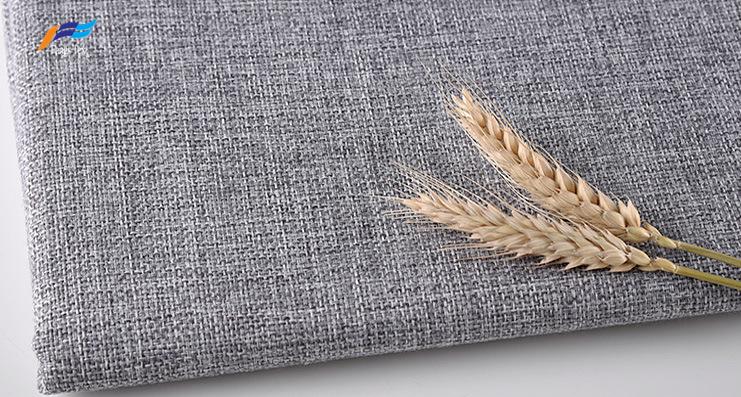 2019 New Design Eco-friendly Upholstery Linen Sofa Fabric 2