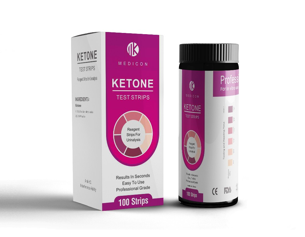 Urine Ketone Strips Test
