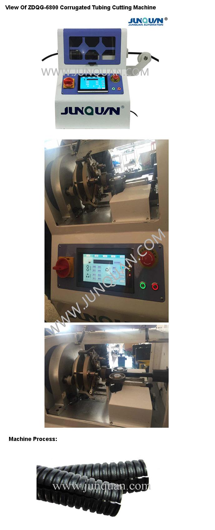Corrguated Tubing Cutting Machine (ZDQG-6800)