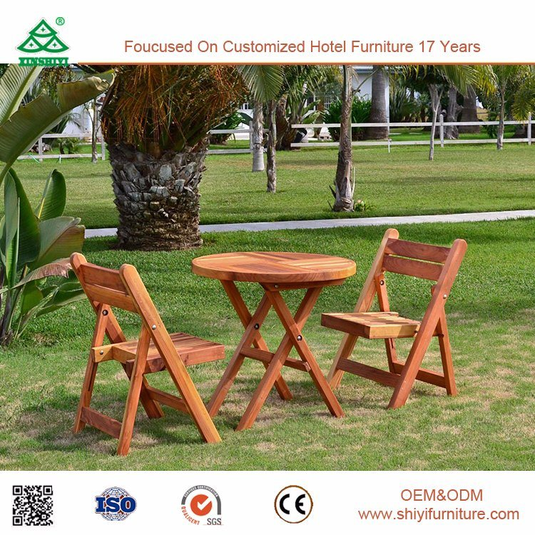 Outdoor Furniture Wooden Garden Accent Chair Outdoor Chair