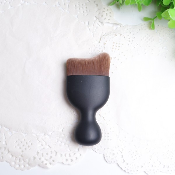 2016 New Single Kit Matte Black Mini Multipurpose Makeup Brush