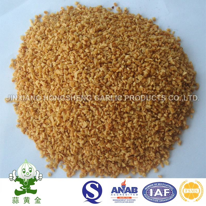 Oiled Garlic Granules / Fried Garlic Granules Hot Selling