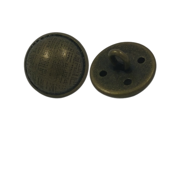 Factory Sale Custom Brass Metal Shank Button