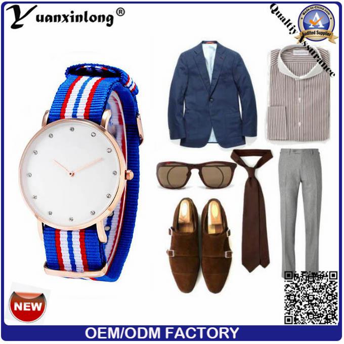 Yxl-249 New Design Ladies Dress Watch Diamond Luxury Sport Casual Leather Wrist Watch Stainless Steel Case Watches Lady