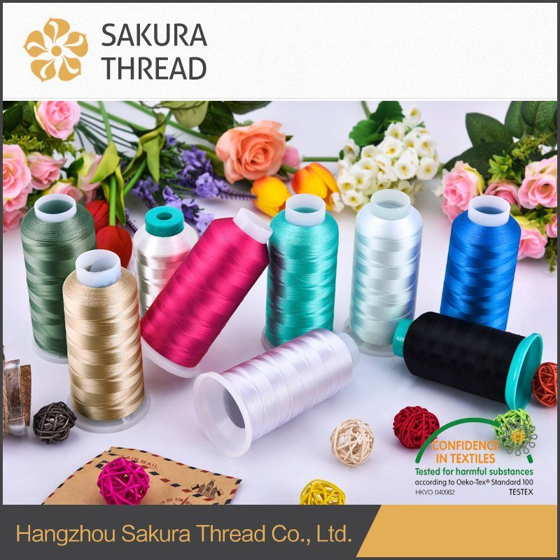 100% Spun Polyester Sewing Thread with Type 203, 402, 403, 602, 603